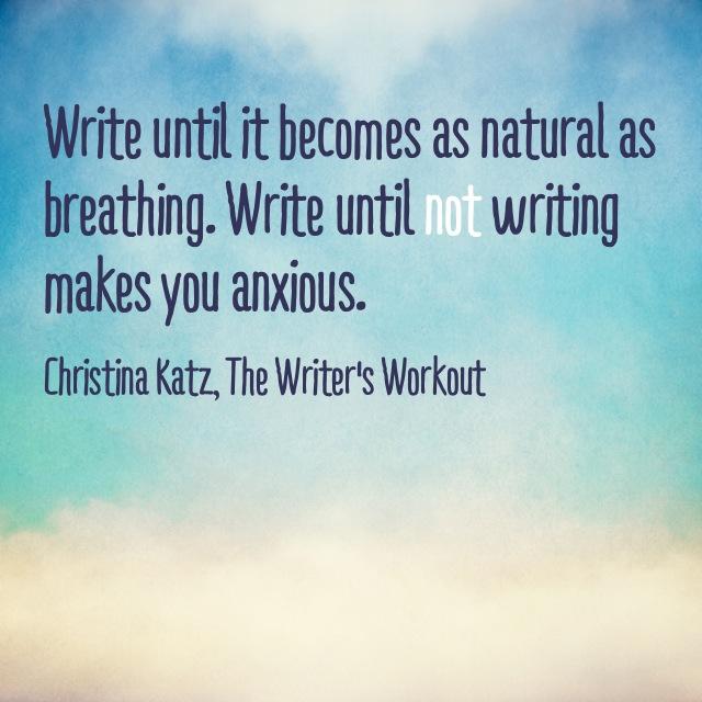Writelikeyoubreathe